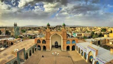 جاذبه های گردشگری سبزوار: مسجد جامع