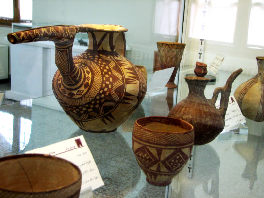 Potteries at Iran Archaeological Museum