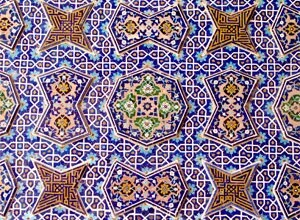 tile working in Iran