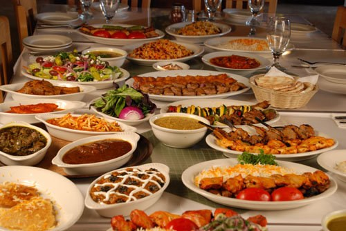 Food in Iranian Restaurants