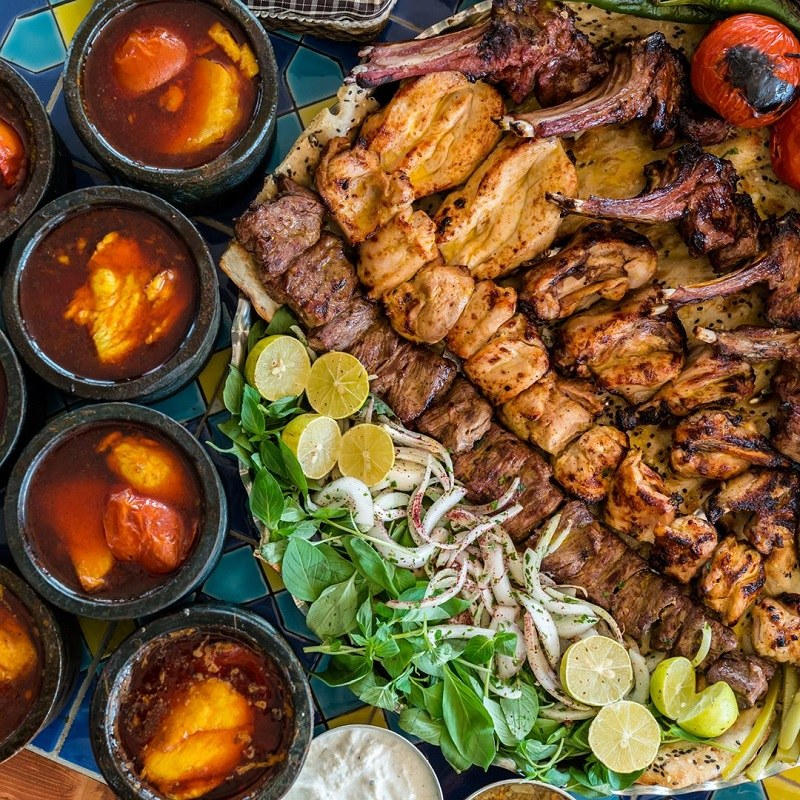 Iranian Food to Eat in Iranian Restaurants