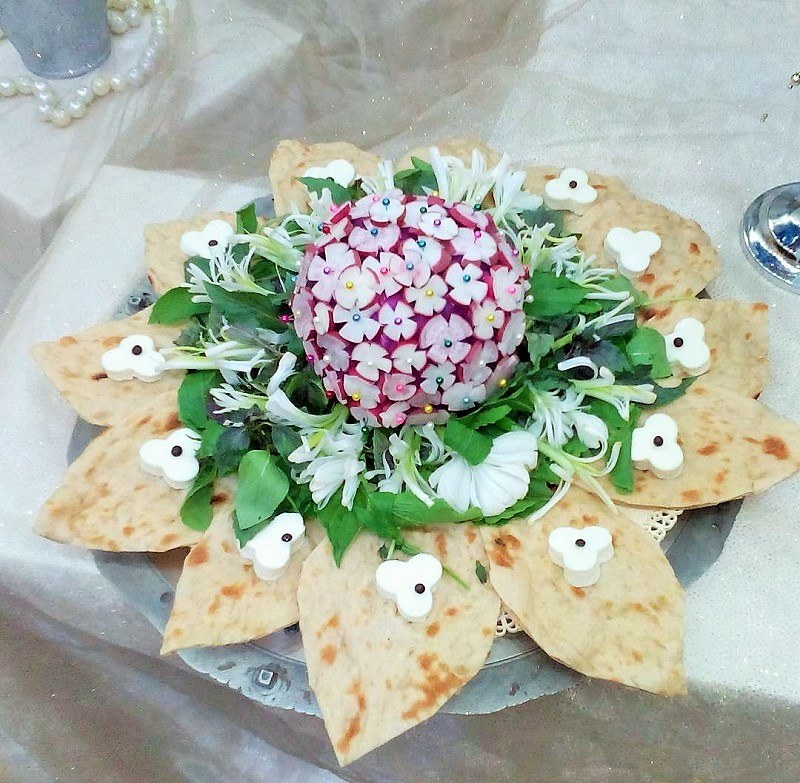 Salads in Iranian Restaurants