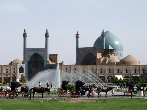 Imam Khomeini Mosque in Isfahan
