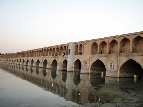 Bridges used as Water Management Structures in ancient Persia