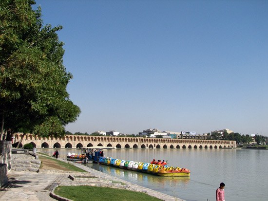 visit Isfahan at the end of your tours to Iran