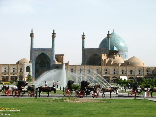 General View of Imam Khomeini Mosque