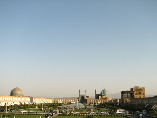 General View of Imam Khomeinin Square