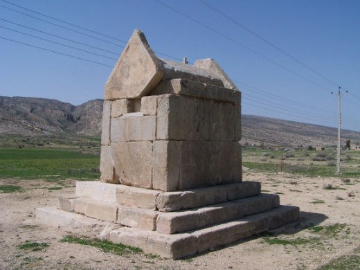 Gur Dokhtar, probably Tomb of Cyrus I