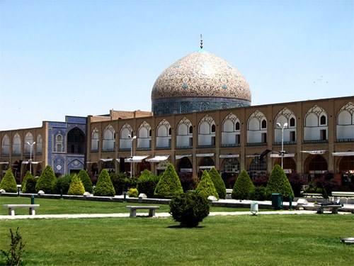 View of Sheikh Lotfollah Mosque from Imam Square