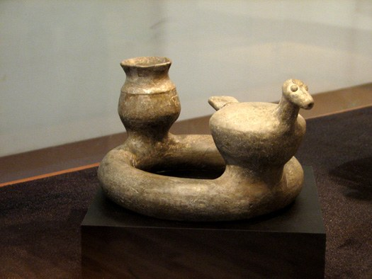 animal-shaped grey pottery of khorvin