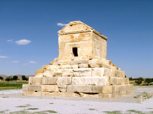 Cyrus Tomb at Pasargadae, Iran
