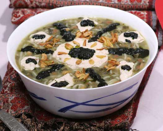Soup for Chaharshanbeh soori