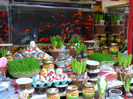 Customs and Traditions before Nowruz in Iran