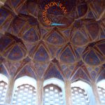 Ceiling of Top Floor of Aliqapoo Palace