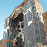 Portal of Blue Mosque, Tabriz