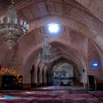 Inside Friday Mosque of Tabriz, Iran