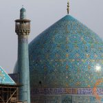 Dome of Imam Khomeini Mosque in Isfahan