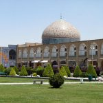 Exterior of Sheikh Lotfollah Mosque in Esfahan