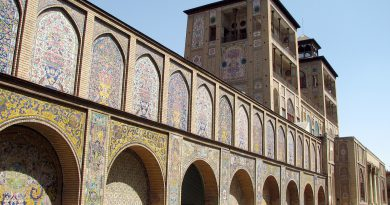 Golestan Palace is one of Tehran tourist attractions