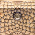 Ceiling of an Old House in Kashan, Iran