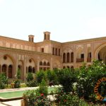 View of Ameries House in Kashan, Iran