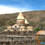 Black Church View, NW of Tabriz, Iran