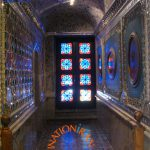 Interior of a palace in Golestan Compound, Tehran