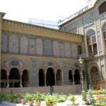 View of a Corner of Golestan Palace Compound, Tehran