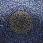 Ceiling of Imam Khomeini Mosque of Esfahan