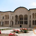 Southern Eyvan of Tabatabaee House in Kashan