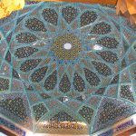Ceiling of Tomb of Hafez in Shiraz