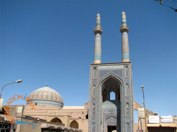 Friday Mosque in Historic City of Yazd