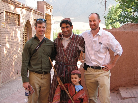 American on Private Tours to Iran in Abyaneh