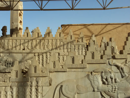 Central Palace of Persepolis