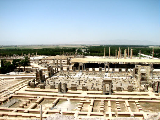 A Partial View of Persepolis
