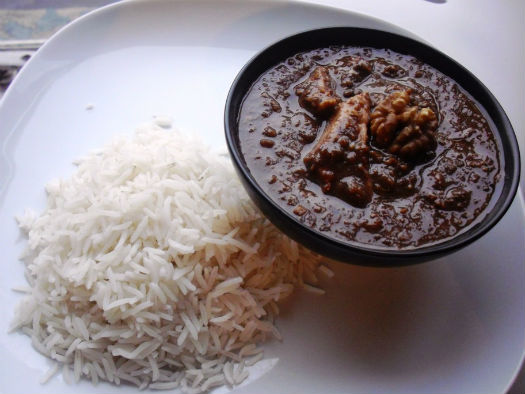 Khoresht Fesenjan, A Delicious Persian dish