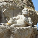 Hercules Statue at Bisotun, kermanshah