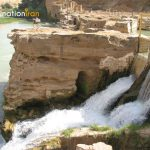 Forceful Shushtar Waterfalls