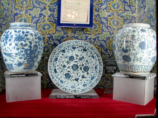 Chinaware at Chini Khaneh Ardabil
