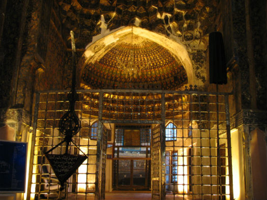 Interior of Sheikh Safi al-Din Shrine
