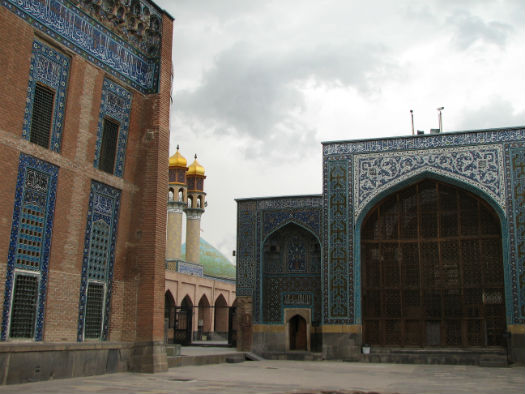 Courtyard of Sheikh Safi-al Din Khangah & Shrine Ensembles-2