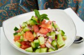 How to Prepare Tasty Shirazi Salad, An Iranian Appetizer