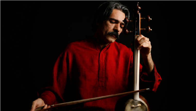 The art of crafting and playing with Kamancheh by an Iranian Musician