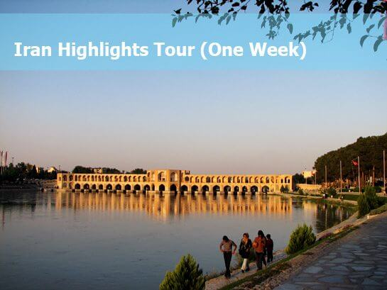 Destination Iran Tours & Travel Package for 6/7/8 days