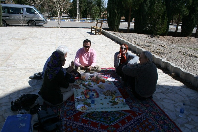 A tour with slow-paced traveling style in Iran