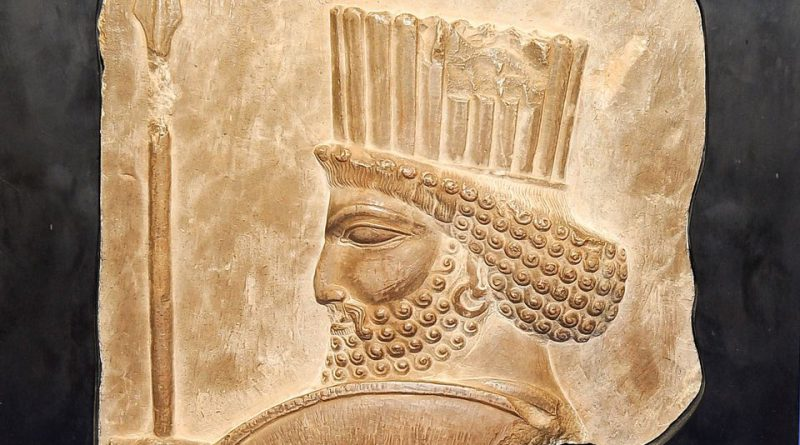 Achaemenian Soldier Bass Relief