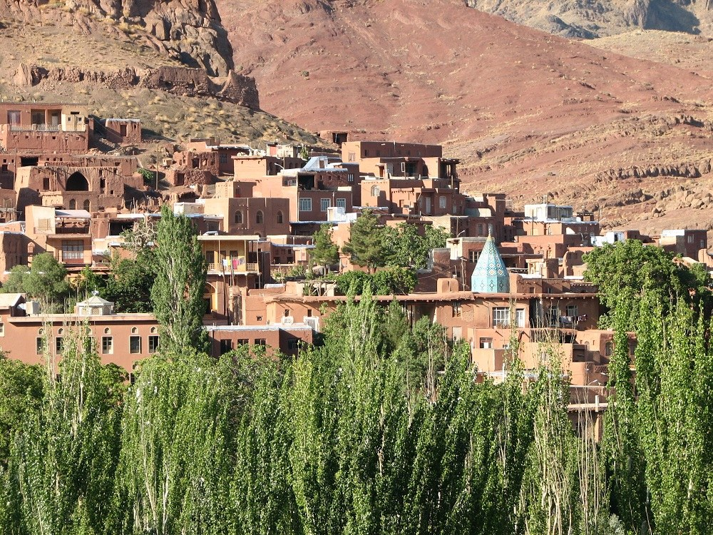 View of Abyaneh Mosques Shrines