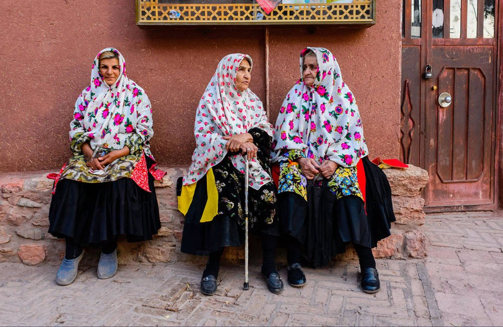 Abyaneh Village Women Clothes