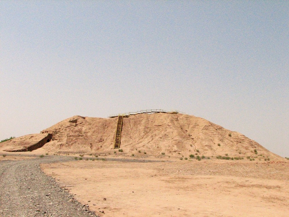 Historical Mound in Jiroft Site