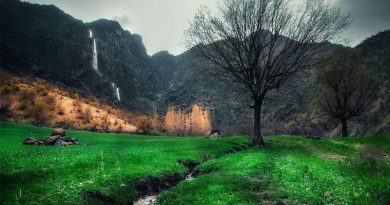 A View of Khorramabad Valley